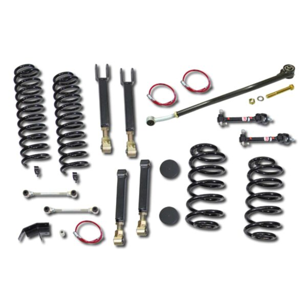 KIT INALTARE 4″ CLAYTON OFF ROAD ENTRY LEVEL – JEEP WRANGLER TJ