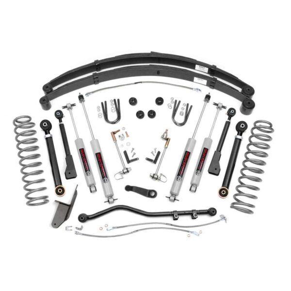 KIT INALTARE 4,5″ ROUGH COUNTRY PRO X-SERIES – JEEP CHEROKEE XJ